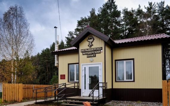 Врайонах Пензенской области построят 4 новых фельдшерских пункта