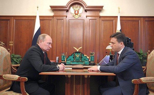 Владимир Путин назначил Андрея Воробьева ВрИО губернатора МО