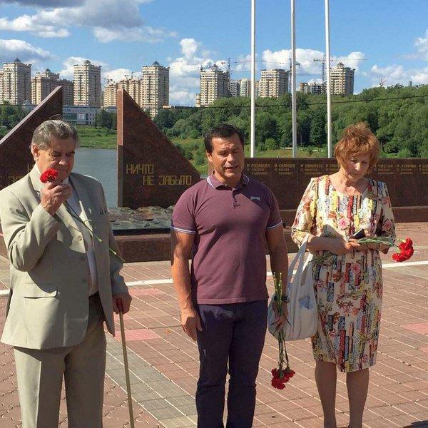 Игорь Васильевич Чистюхин в День воздушного флота России