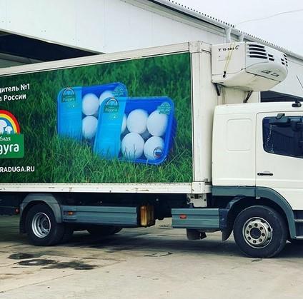 Продукция компании Александра Удодова доставляется свежей до прилавков