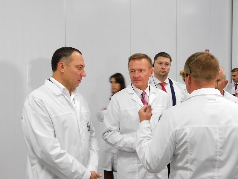 Александр Удодов и губернатор Курской области Роман Старовойт обсудили перспективы развития «Грибной радуги»