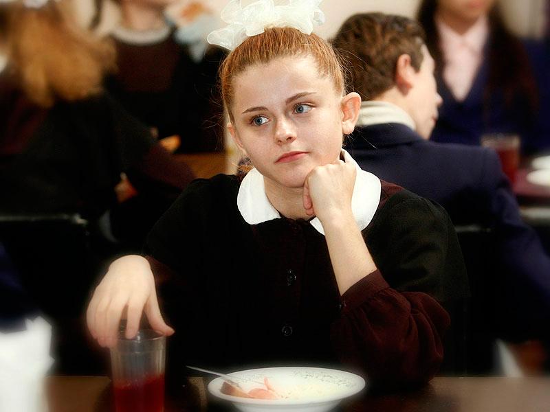 Ксения Суркова в детстве
